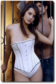 Sleek Satin Corset