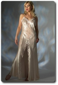 Jane Woolrich Long Silk Nightdress 2671