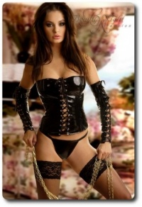 Beauty Night Mistress Vinyl Corset