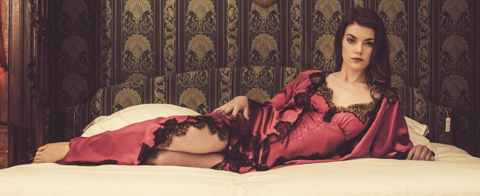 Liliana Casanova French luxury silk nightwear
