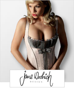 Jane Woolrich - Luxury Lingerie in Silk and Lace