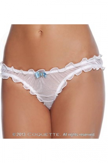 Shimmery White Panties