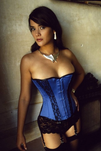 Royal Blue Corset - Vollers Inspire Design 1126