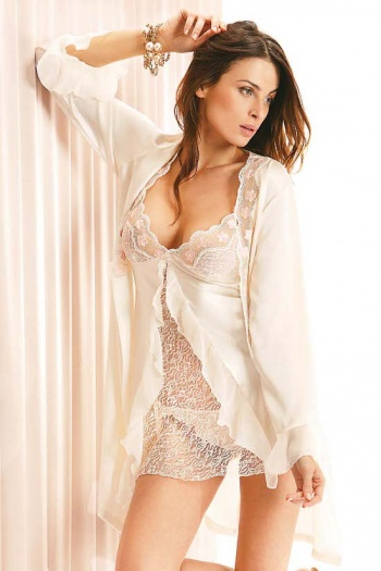 Short Glamour Negligee