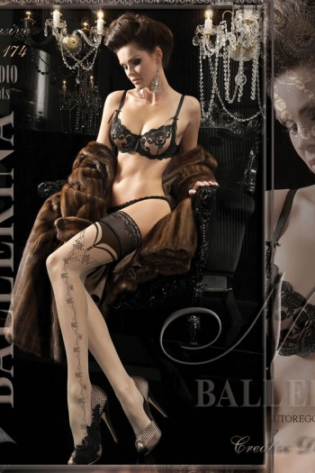Ballerina Elegant Hold Up Stockings