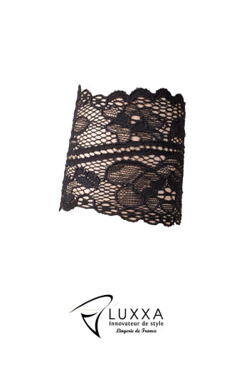 Reglisse Black Lace Bracelet by Luxxa