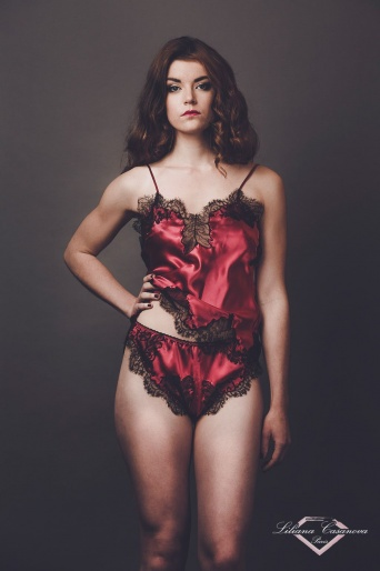 Fremoire Silk Camisole & Shorty