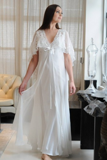 Georgette Negligee - Jane Woolrich Design 8683