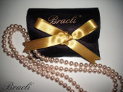 Bracli Atami Cultured Pearls and Satin Pouch