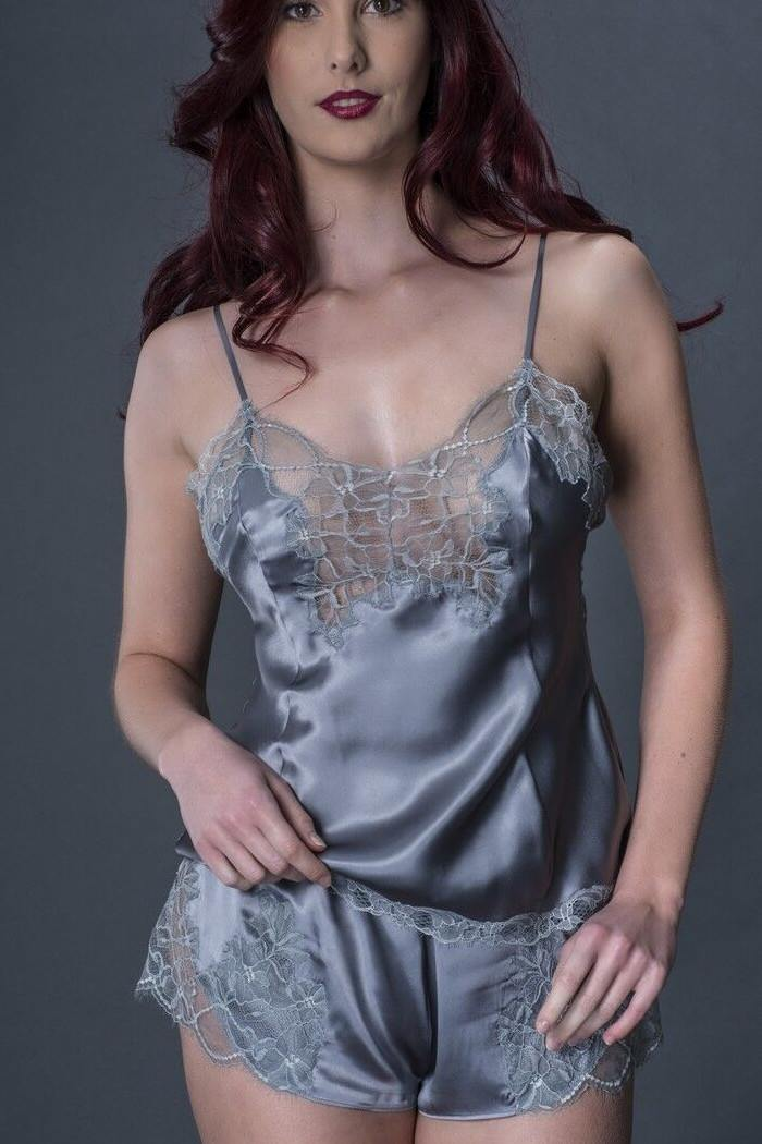 Silk and Lace Camisole Tops for Women. Our collection of designer silk and lace camisoles look feminine and delicate, yet they're made from only the finest % mulberry silk available to .