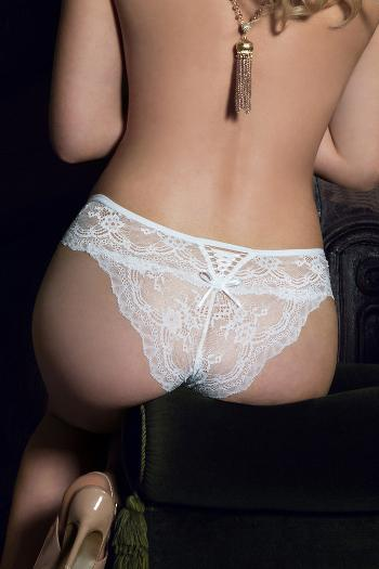 Ofelia White Lace Knickers by Roza Lingerie