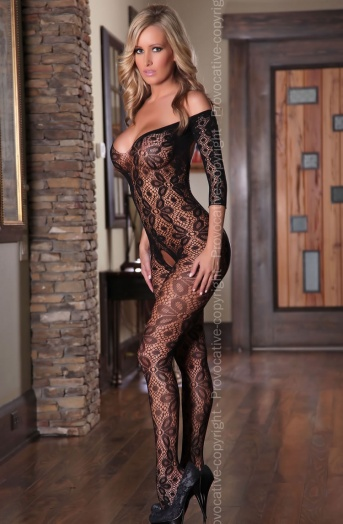 Provocative Black Lace