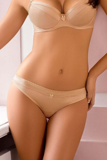 Woman's Beige Thong - Sally by Gorteks