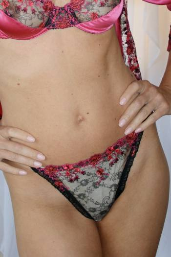 Embroidered Panties Diki Lingerie Christelle