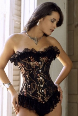 Thai Silk Corset - Vollers Allure Design 1119