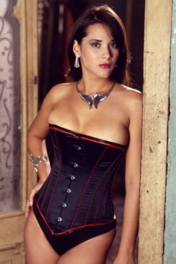 Sleek Satin Corset - Vollers Essence Design 1128