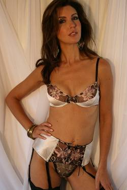 Palest Shell Pink Silk Three Piece Bra Set