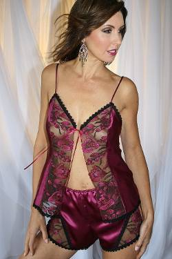 Luscious Raspberry Camisole Set