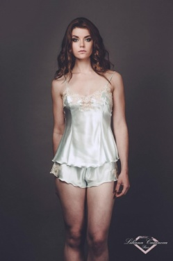 Brissac Silk Camisole & Shorty Set