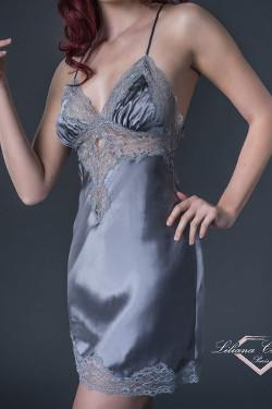 Contemporaine Silk Chemise by Liliana Casanova