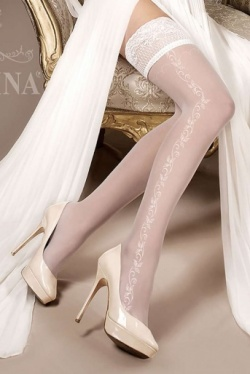Ivory Bridal Stockings. Ballerina 257