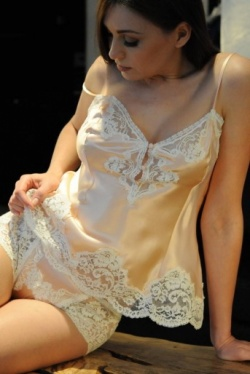 Silk Camisole & French Knickers - Jane Woolrich 8302-8313