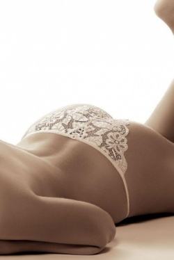 Sarina Lace Panties by Roza Lingerie - Choice of Black or White