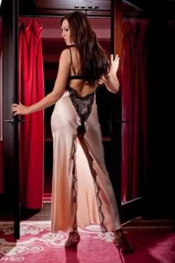 Luxury Satin Nightdress Jane Woolrich Design 8276