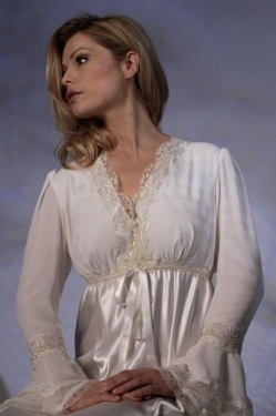 Demure Luxury Long Sleeve Nightdress - Jane Woolrich 31711 P