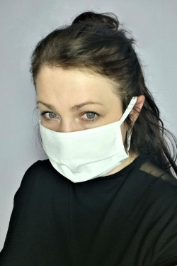 Woman's Cotton Face Mask