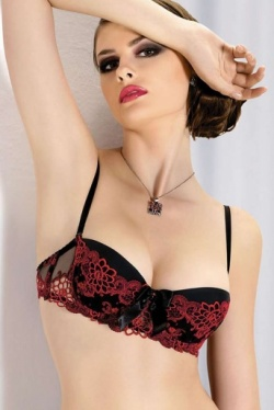 Mon Amour Balcony Bra 186 by Gracya Lingerie