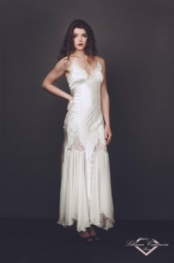 Chantilly Luxurious Silk Nightdress