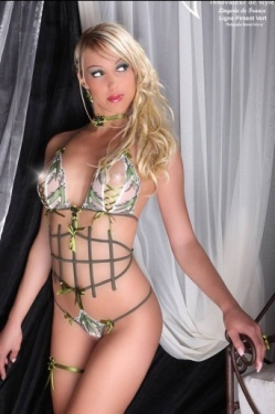 Piment Vert Open Lingerie Body by Luxxa
