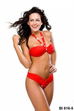 Mar Egeu Red Bikini 616-5