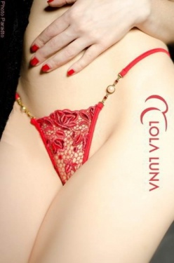 Roxanne Red Lace Mini String