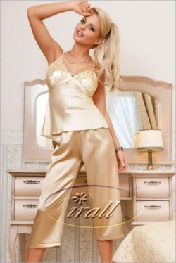 Irall Satin Women's Pyjama Set - Parisa