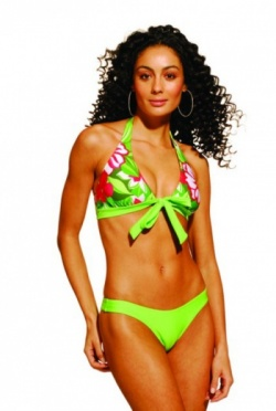 Mar Egeu Designer Bikini - Passion Flower