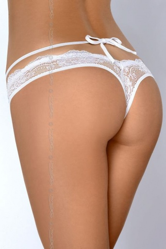 Sexy White Lace String - Axami Mademoiselle V-6768